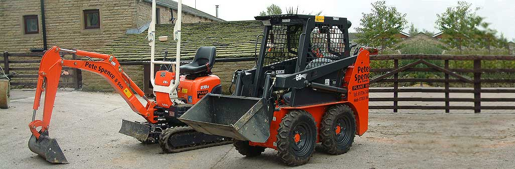 Plant And Machinery Hire | Mini Digger Hire PNS Rochdale